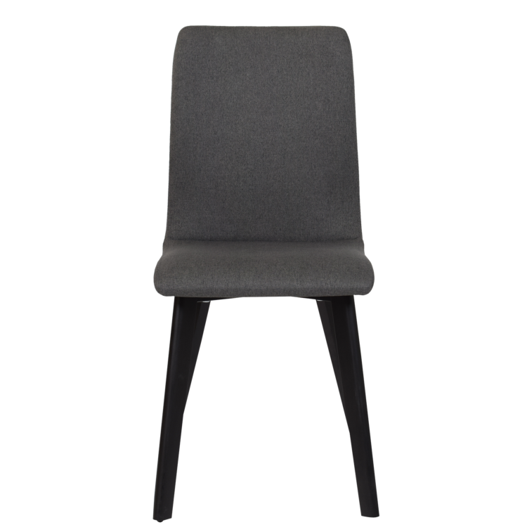 Chaise Bucarest lounge en tissu gris