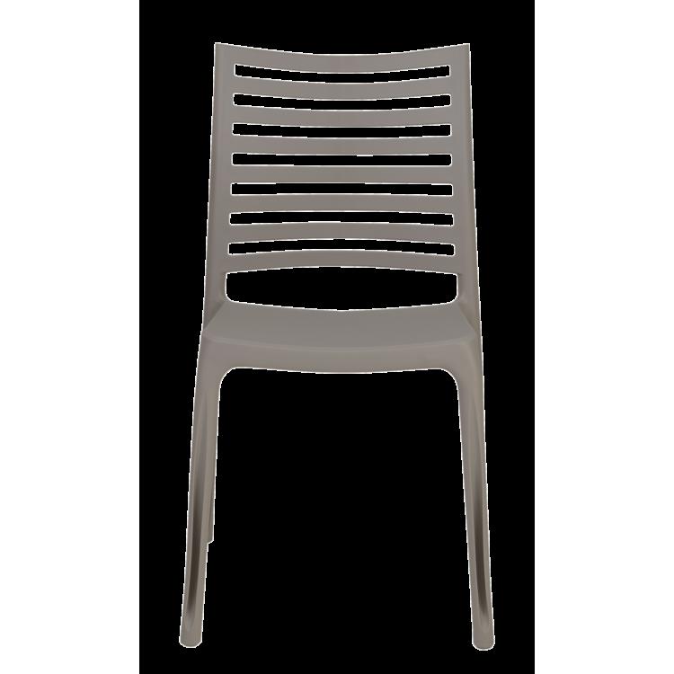 Chaise Oslo beige pour terrasse et jardin