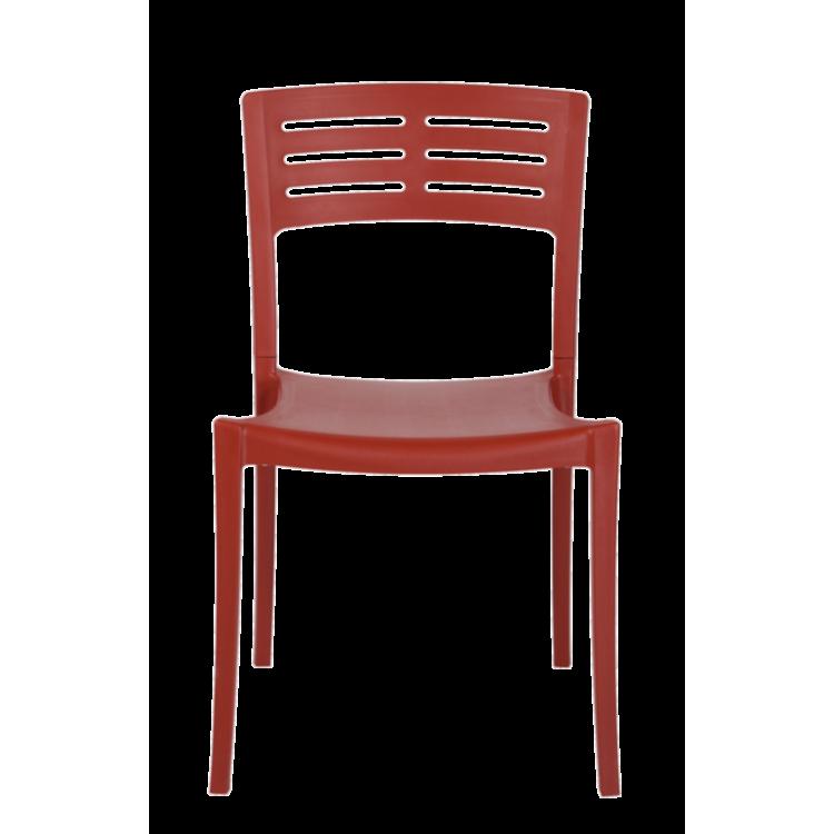 Chaise Prague Rouge