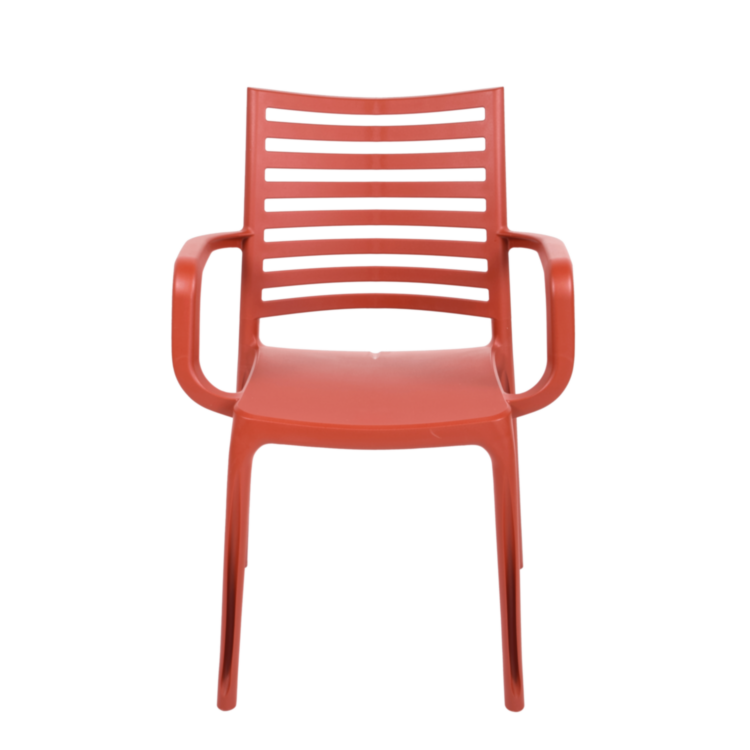 Fauteuil Oslo Rouge