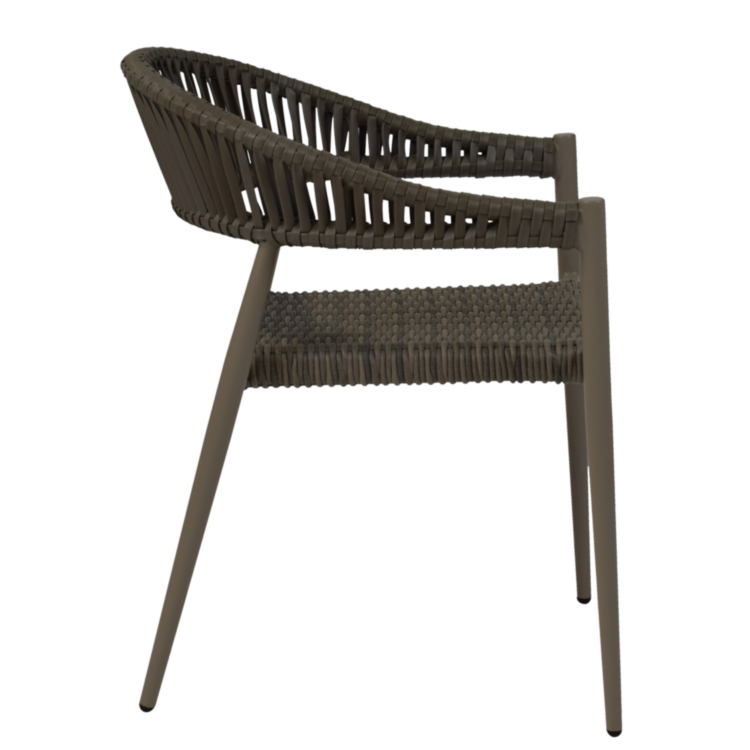 Fauteuil terrasse Nicosie taupe