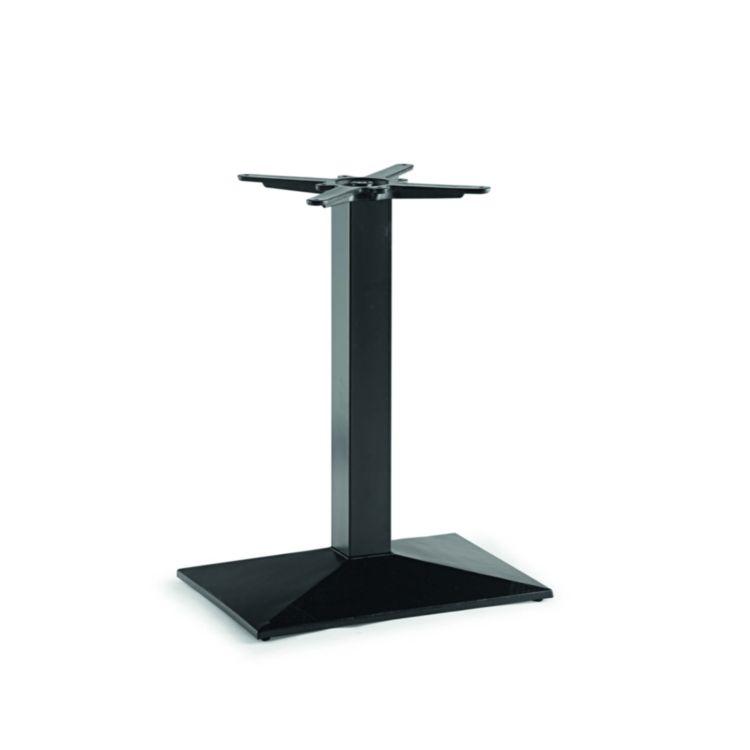 Pied de Table Fonte Métal Noir