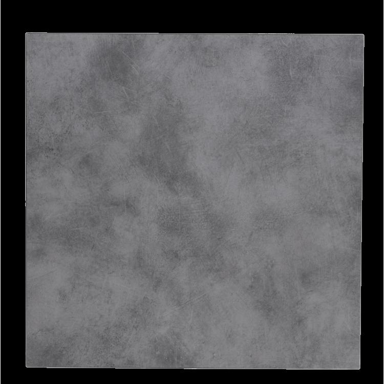 Plateau Compact Copperfield Béton 70x70