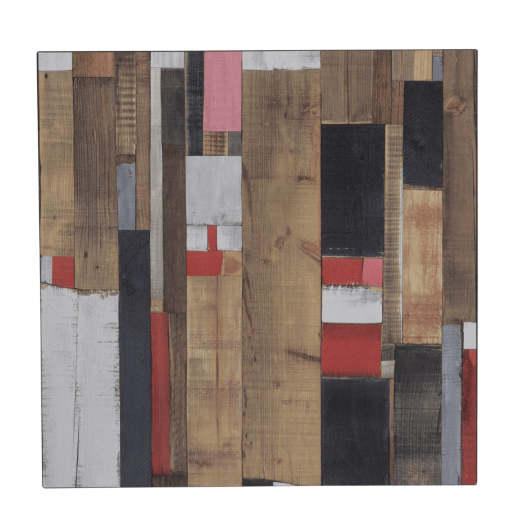 Plateau Redden Wood Compact 60x60 cm