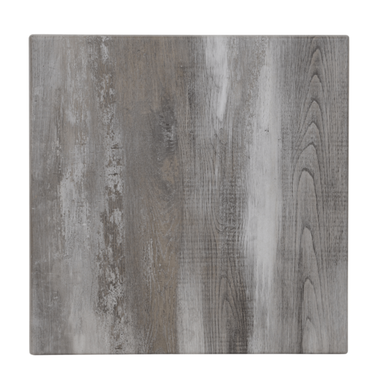 Plateau Iceland Oak Stratifié Moulé Lunaire 70x70 cm