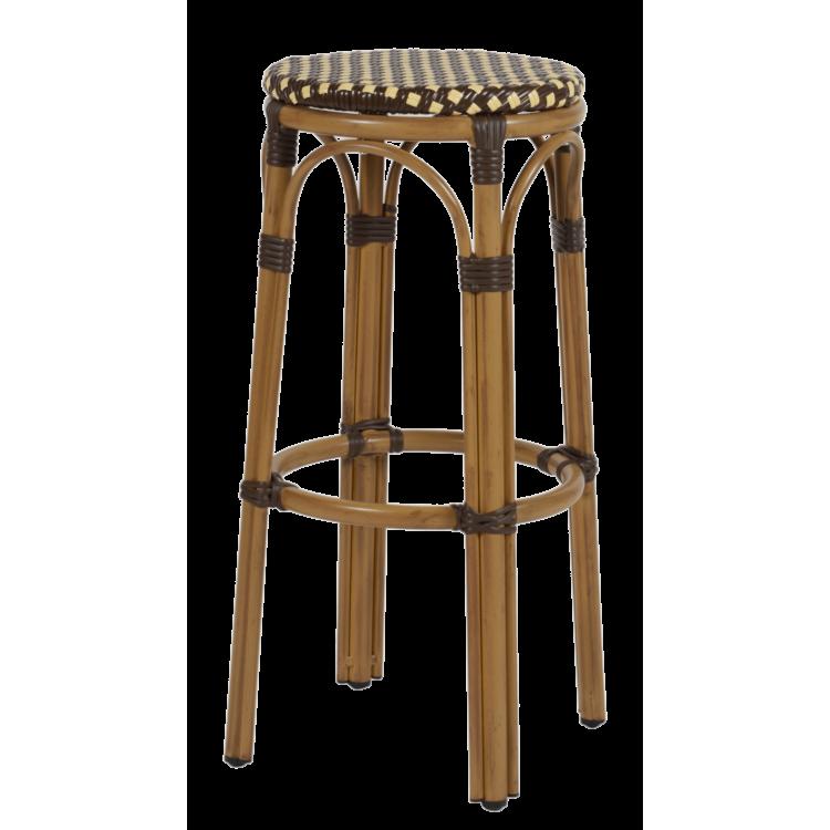 Tabouret de bar Tarawa marron